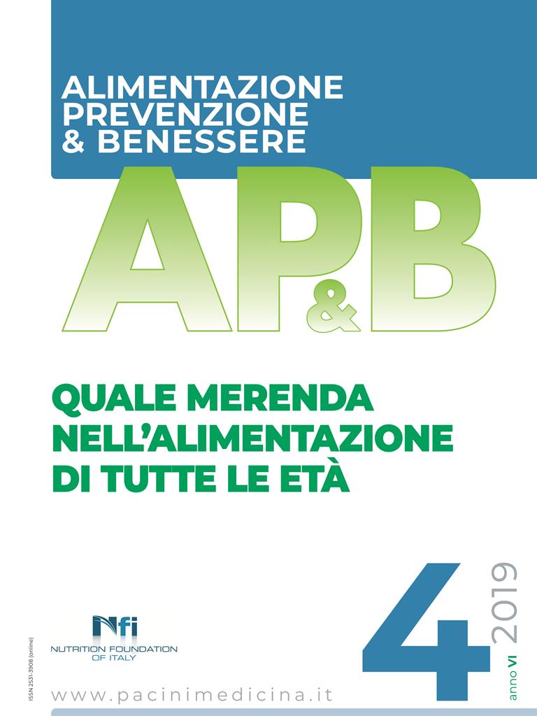 Ap B Alimentazione Prevenzione Benessere N 4 2019