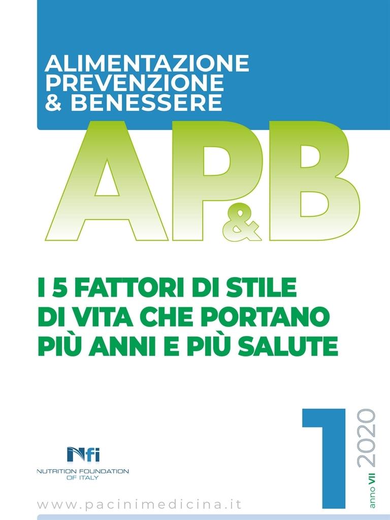 Ap B Alimentazione Prevenzione Benessere N 1 2020